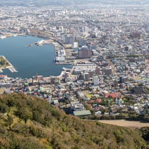 函館山山頂で 2   2020.09.29