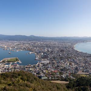 函館山山頂で 3  2020.09.29