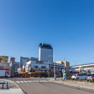 函館駅前で 2020.09.28