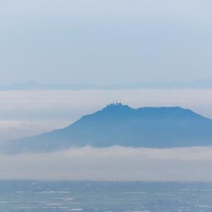 きじひき高原から羊蹄山が見えた