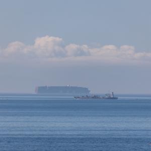 立待岬で  2021.07.18
