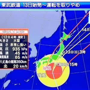 「台風19号情報」