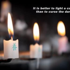 「一本の蝋燭」