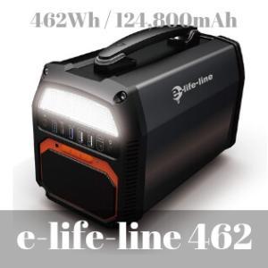 e-life-line 462WhはBluetoothスピーカーを搭載したキャンパーがおすすめするポータブル電源