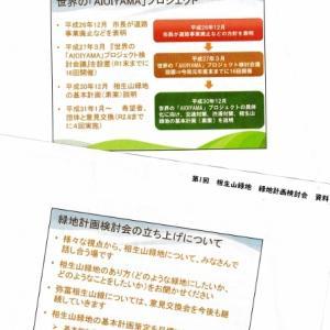 相生山緑地 緑地計画検討会 立ち上げ