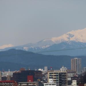 御嶽山がキレイに見えました