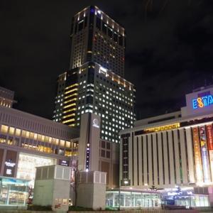 札幌市11月27日(金曜日) 夜の街とイルミネーション