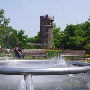 札幌市百合か原公園  リリートレインに乗って!