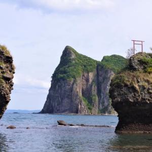 余市町のローソク岩 & 古平町のセタカムイ岩と古平家族旅行村