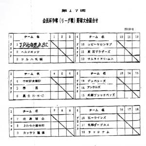 札幌アカシヤ倶楽部試合結果 2019.8.11-8.21
