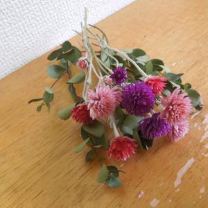 ちょこっと花材。ドライフラワー