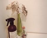 ちょこっとお試しのドライフラワーを素敵なボトルフラワーに使って頂きました。