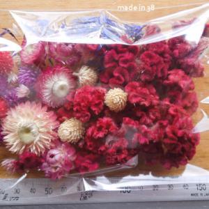 小さなドライフラワーの詰め合わせ キャンドル ハーバリウム サシェ 材料 花材
