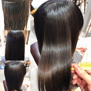 髪質改善と縮毛矯正とカラーで綺麗な艶髪に!!同日にやる方法!!(口コミあり)