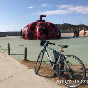 サイクリング 12/15 直島