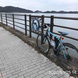 サイクリング 1/25 無念