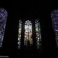【16世紀のステンドグラス】ブールジュのカテドラル