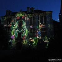 夏の夜の光りのスペクタクル 【 Les Nuits Lumières de Bourges ブールジュの光りの夜】