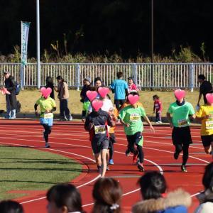 伴走 スペシャルオリンピックス 八千代ニューリバーロードレース 10km
