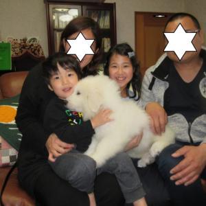 ミルキーちゃん、広島県へ巣立って行きました。