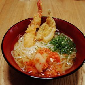 天ぷら冷麺