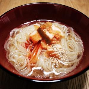 盛岡冷麺と助六寿司弁当