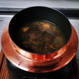 みそ漬け蕨の釜飯
