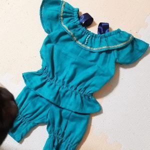 ジャスミン姫の衣装を子供に手作り!おすすめの無料型紙と布と作り方