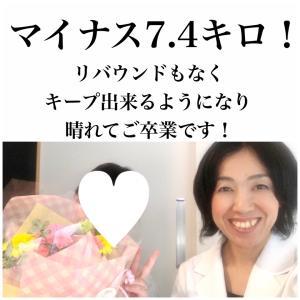 【祝卒業】マイナス7.4キロ!ダイエットが続いて自分でもビックリ!