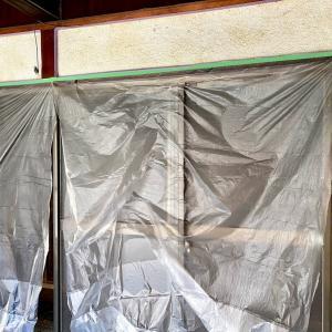 壁塗りのリベンジ