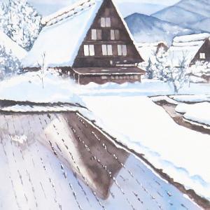 勝手に雪景色