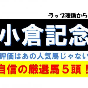 小倉記念2019【自信の厳選馬5頭】S評価はあの人気馬じゃない!