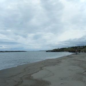 今年初 青山海岸