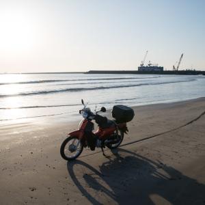 カブ 真冬の浜厚真・ジュエリーアイスもどき