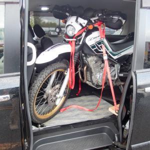 C26セレナはバイクトランポになり得るか?