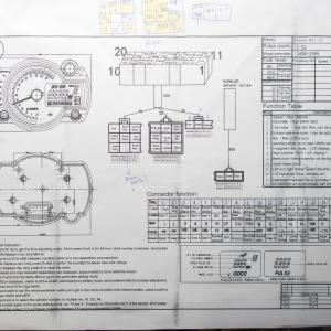 クロスカブ(JA10) 汎用メーターSS182取付・配線編
