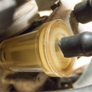 ウルフ(NF13A) 燃料ストレーナ・ホース・フィルタ再考