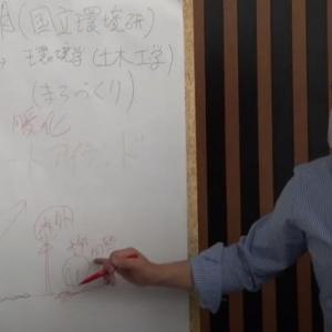 日本科学未来館にて(レクチャー)