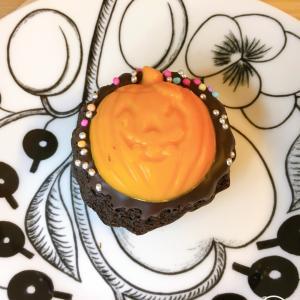 北欧×オレンジでハロウィン仕様のティータイム