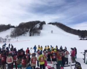 スノーボード教室開催