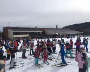 団体様親子スキー教室