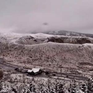 初雪の知らせ