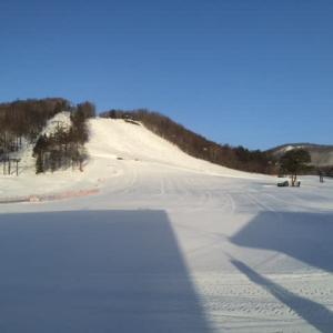 スキー場臨時休業