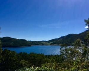 9月の野反湖