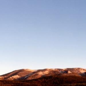 白根エリアの冠雪