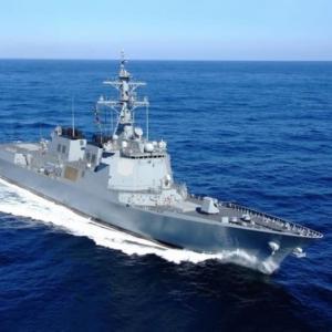 韓国海軍のイージス艦が、北のミサイル発射11回のうち5回検出できず