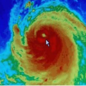 大型ハリケーン、100年前の3倍 要因は温暖化=米紀要に研究