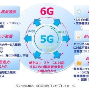 ドコモ、6Gに向けた技術コンセプトを公開 <2020年1月22日>