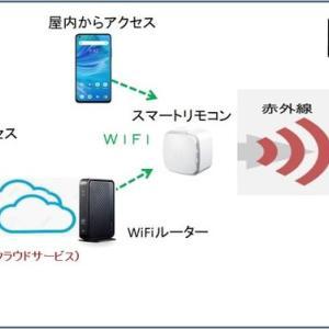 クラウドサービスとスマートリモコン