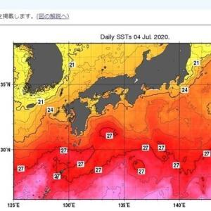 南九州の豪雨の次に襲ってくるのは、巨大台風か?